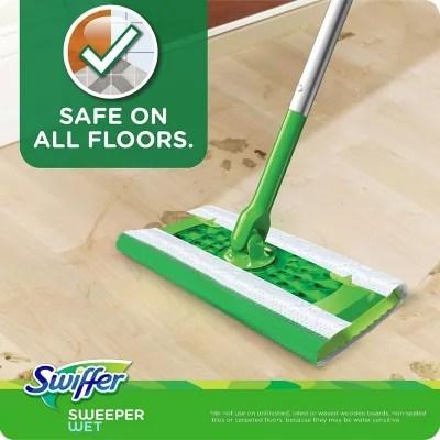 swiffer sweeper wet refills lavender vanilla and comfort 64 ct
