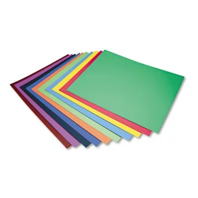 pacon four ply poster board assorted colors