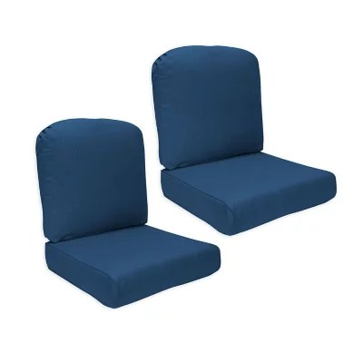 member s mark sunbrella deep seating cushion 2 pack various colors