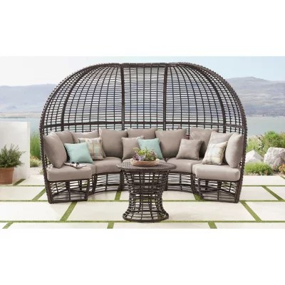 member s mark montego 6 piece day lounger outdoor seating set