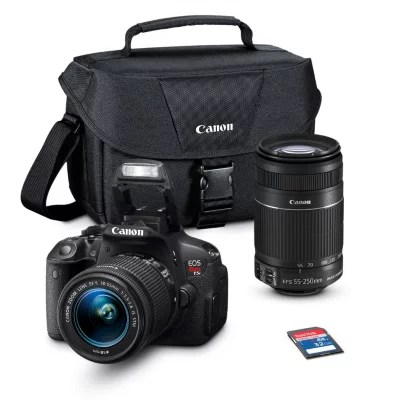 Canon T5i 18MP Digital SLR Camera Bundle with 18 55mm IS Lens  55     Canon T5i 18MP Digital SLR Camera Bundle with 18 55mm IS Lens  55