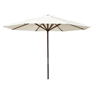 classic wood 9 ft market umbrella assorted colors