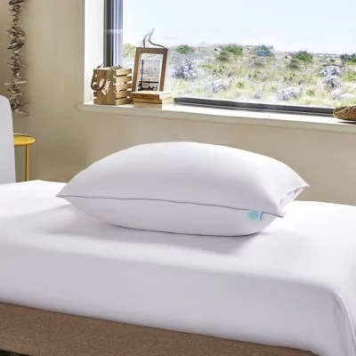 martha stewart 400 thread count white down pillow