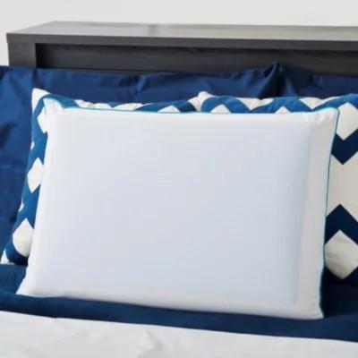 night therapy memory foam gel pillow