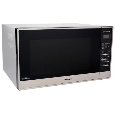 panasonic 2 2 cu ft stainless steel microwave oven with inverter technology