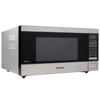 panasonic 1 6 cu ft stainless steel microwave oven