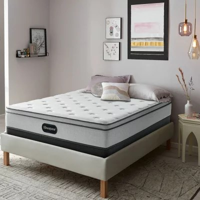 beautyrest br800 plush eurotop 12 king mattress