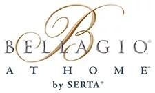serta bellagio at home queen cushion firm pillowtop mattress set