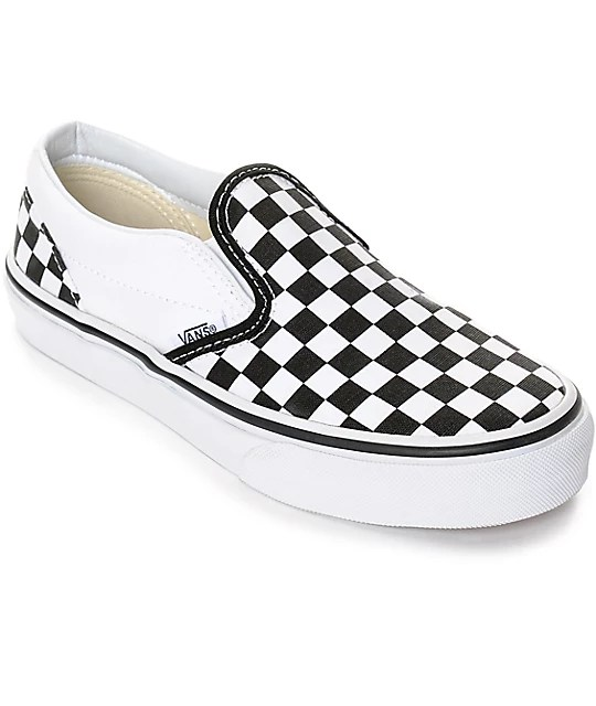 Image result for black and white checkered vans