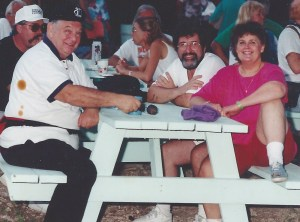 Bob Gibson, Mary Jane Farmer and Pedro Gutierrez