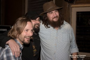 Mike Burgess, Brad Haefner, Jason Lovell — the Buffalo Ruckus