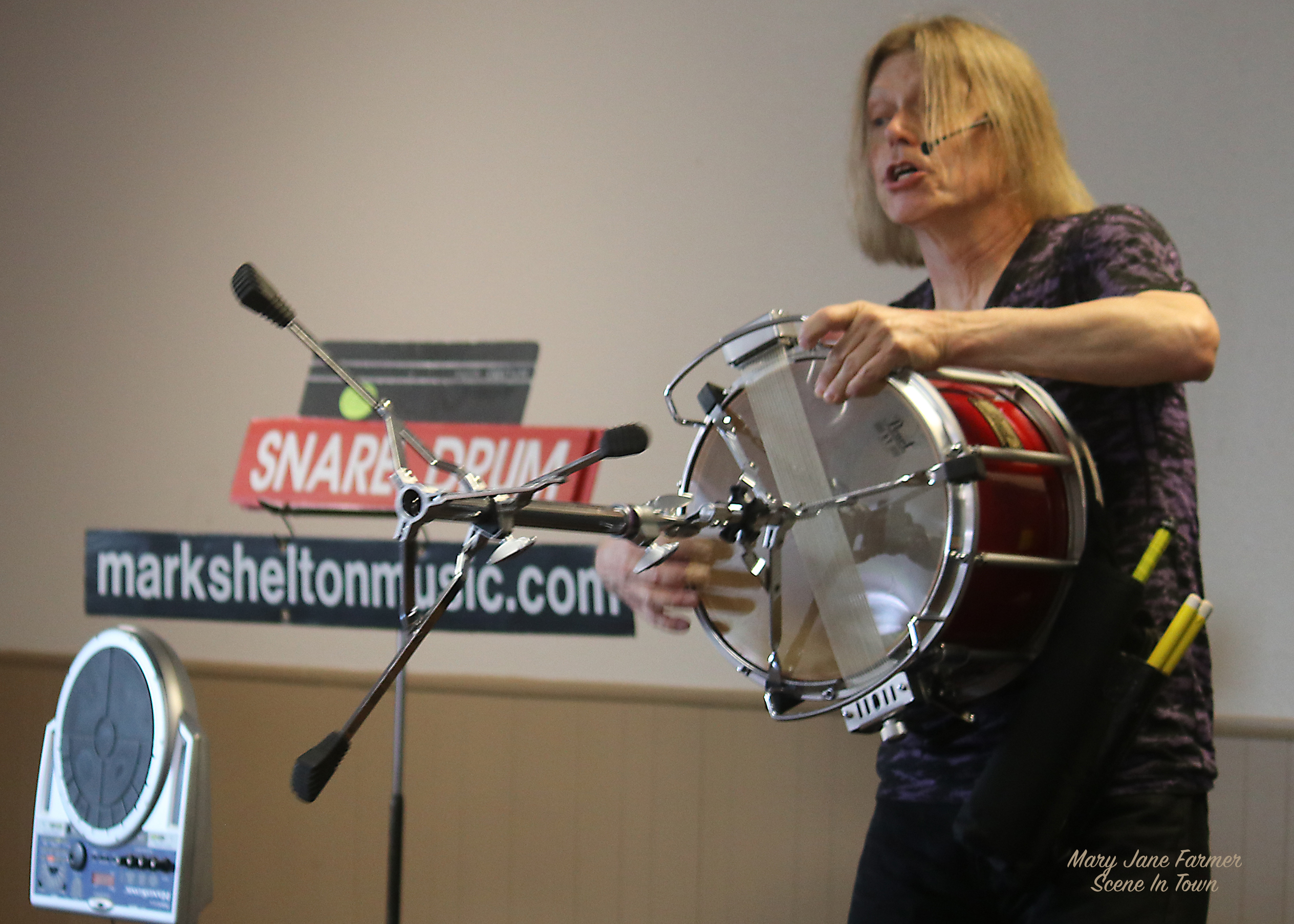 MS 7 with snare