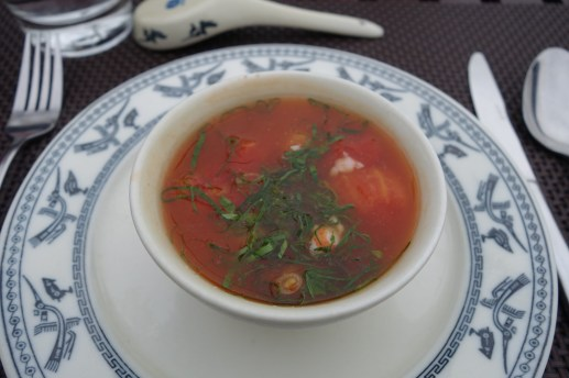 Spicy & Sour Seafood Soup