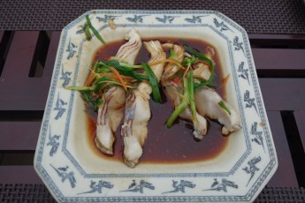 Hue Royal Steamed Sea Bass with Spring Onion