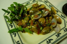 Sautéed Bay Clams in Sweet & Sour Sauce