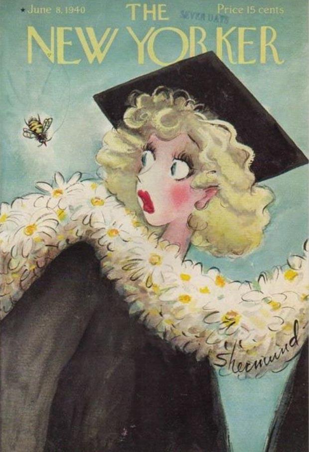 Barbara Shermund New Yorker Cover June 8 1940 SCENES