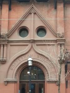 6. Gooderham Flat Iron Building Entrance
