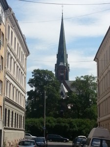 24. Paulus Kirke back