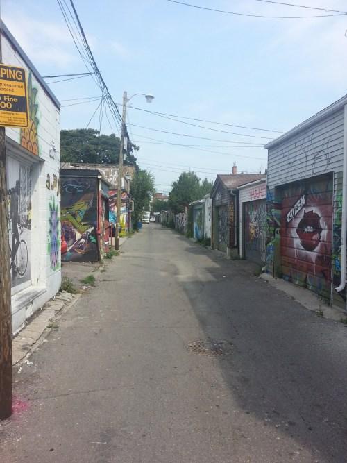 15. Queen Street Lane at Niagara