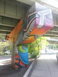 26. King Street East underpass art