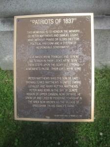 Toronto Necropolis 1837 Rebellion (1)