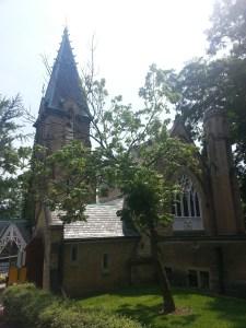 Toronto Necropolis Chapel Back