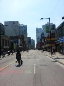 Yonge near Gerrard Open Streets