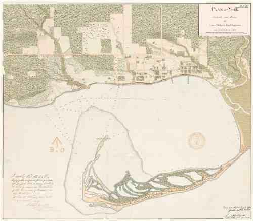 1818 Phillpotts Plan of York