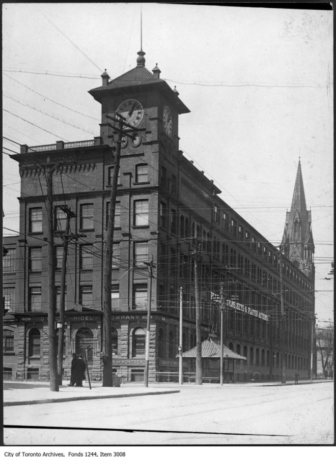 Item consists of one photograph. This building was later known as the Clocktower Building and was demolished in the 1980s. *** Local Caption *** Item consists of one photograph. This building was later known as the Clocktower Building and was demolished in the 1980s.