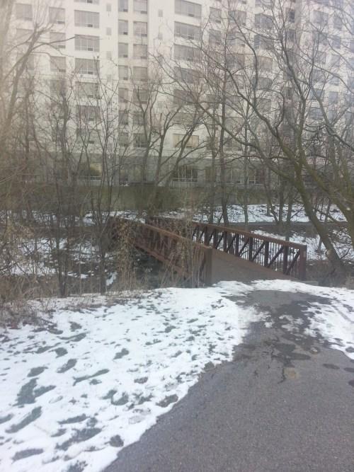 West Highland Creek bridge