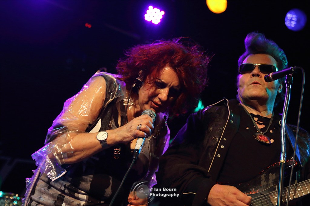 The Rezillos: Fay and Eugene - photo by Ian Bourn for Scene Sussex