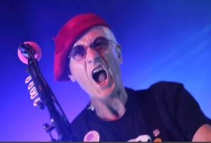 Captain Sensible: The Damned live at the Concorde 2 - phot by IAN BOURN for Scene Sussex