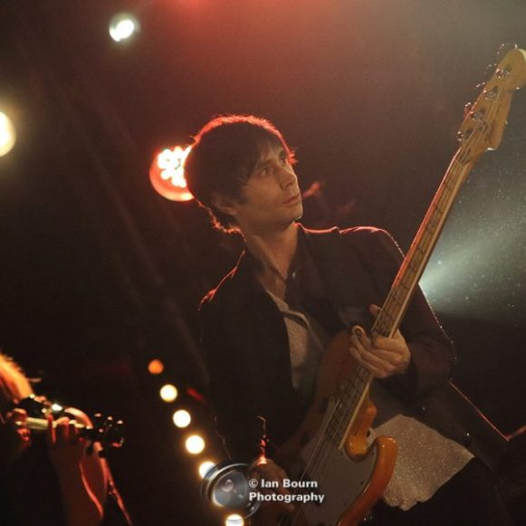 Peter Perrett Jr (from Peter Perrett band) live at the Concorde 2 – photo by Ian Bourn for Scene Sussex