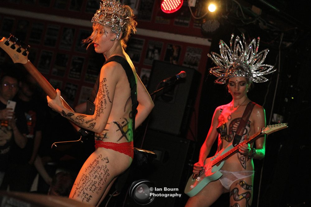 The SoapGirls live at The Con Club, Lewes pic IAN BOURN