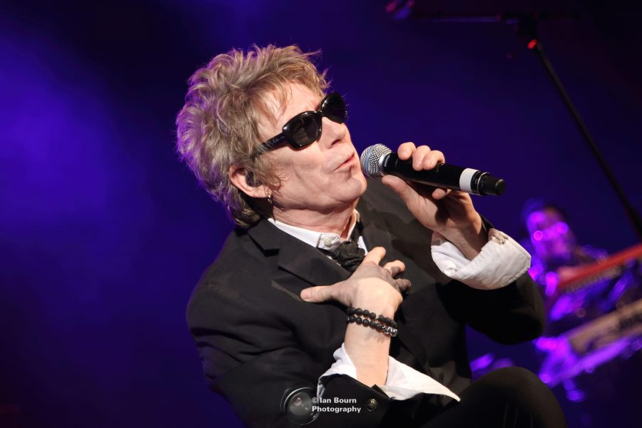 Psychedelic Furs: Richard Butler (bass guitar) photo by Ian Bourn for Scene Sussex