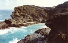 Halona Blow Hole at the SE corner of Oahu on Kalanianaole Highway