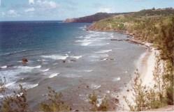 Past Kapalua, we stumbled into Hanokahau Bay and its powerful waves
