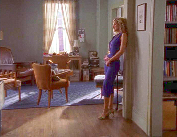 Carrie Bradshawu0027s Apartment From Sex And The City Still Sarah Jessica Parker