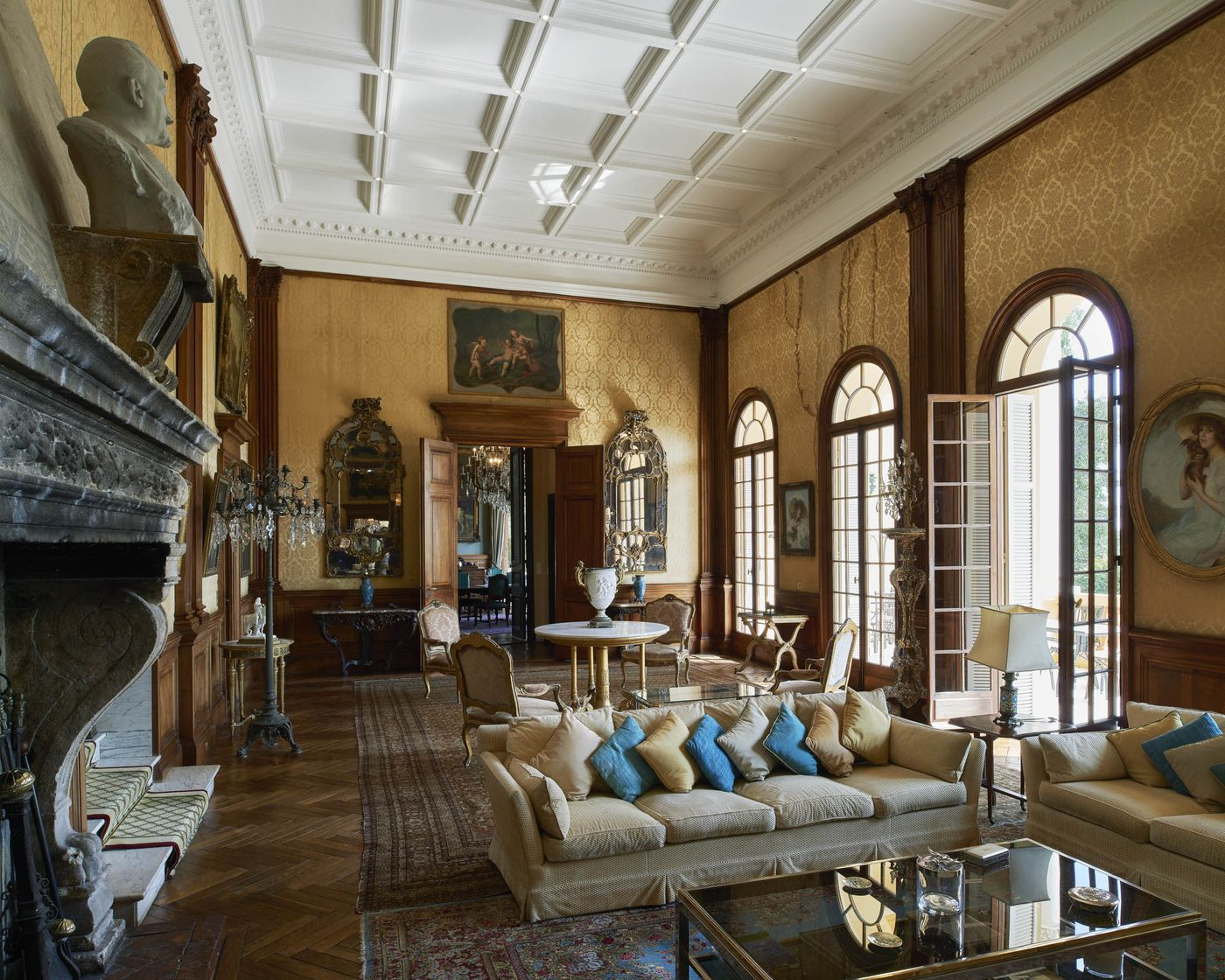 Most Expensive House Drawing Room Scene Therapy