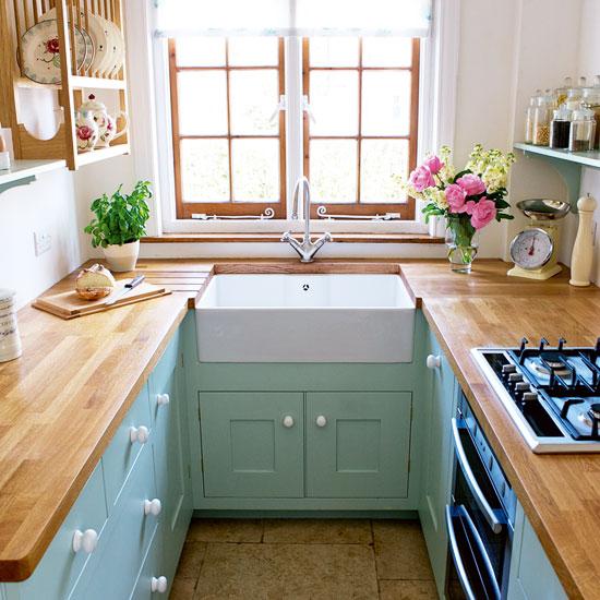 farmhouse kitchen inspiration small kitchen ideas & Small Kitchen Ideas - Scene Therapy