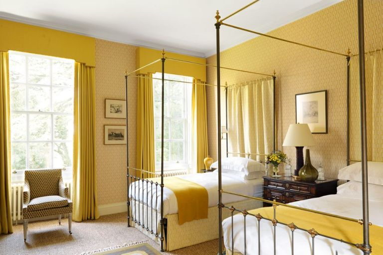 Guest Bedroom Inspiration yellow