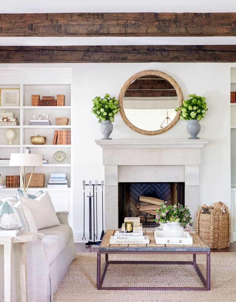 Shop The Look Beach House Sitting Room Scene Therapy