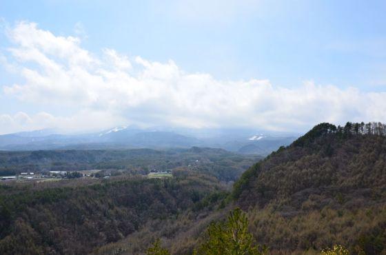 九蔵峠展望所