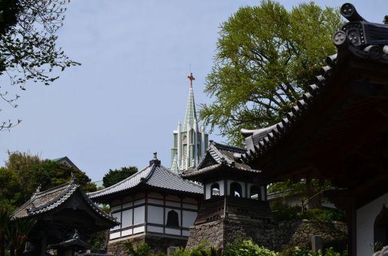 ザビエル記念協会と寺院