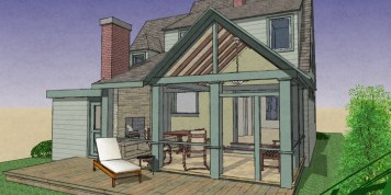 Exterior NO addition Rear Porch 10-2 eaves-2