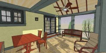Exterior NO addition Rear Porch 9-28-10
