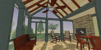 Exterior NO addition Rear Porch 9-28-7