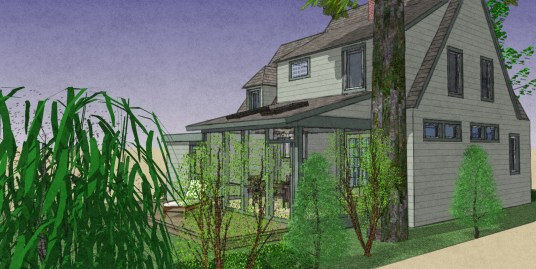 Exterior NO addition Rear Porch 9-8-5