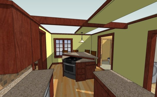 Kerkhof-Derry 1st Floor island kit-13