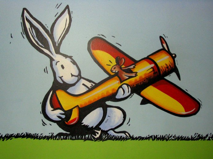 Rabbit and Plane